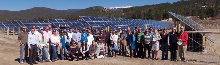 community solar group photo crop